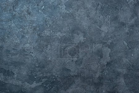 Photo for Top view of aged concrete wall for background - Royalty Free Image