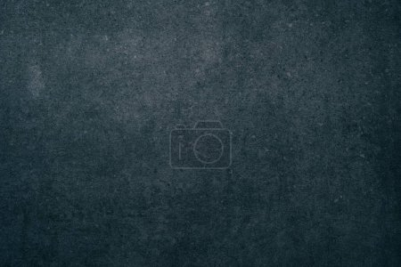 Photo for Top view of dark grungy concrete surface for background - Royalty Free Image