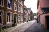 old stone houses in the old town. Germany,Stolberg