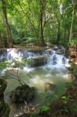 Huai Mae Khamin Waterfall (Khuean Srinagarindra National Park) Kanchanaburi,Thailand