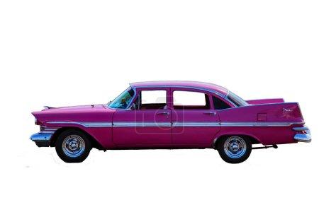 Classic model pink Cadillac Fury