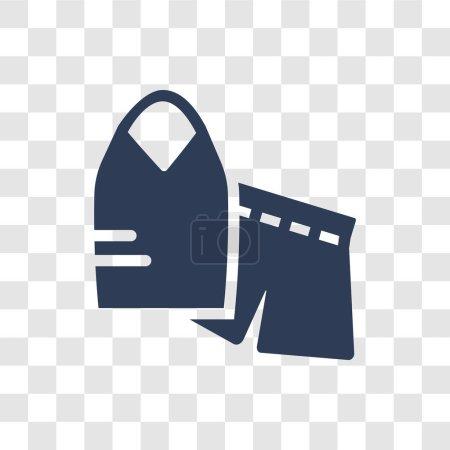 Illustration pour Icône Vêtements de nuit. Concept de logo Nightwear tendance sur fond transparent de la collection Clothes - image libre de droit