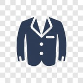 Tuxedo icon Trendy Tuxedo logo concept on transparent background from Clothes collection