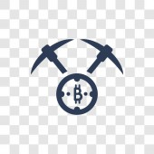 Proof of capacity icon Trendy Proof of capacity logo concept on transparent background from Cryptocurrency economy and finance collection