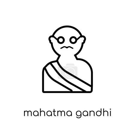 mahatma gandhi icon Trendy modern