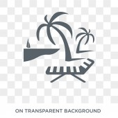 Resort icon Trendy flat vector Resort icon on transparent background from Luxury collection High quality filled Resort symbol use for web and mobile