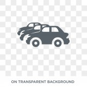 Car collection icon Trendy flat vector Car collection icon on transparent background from Luxury collection High quality filled Car collection symbol use for web and mobile