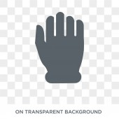 Punch icon Trendy flat vector Punch icon on transparent background from Hands and guestures collection High quality filled Punch symbol use for web and mobile