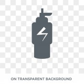 Isotonic icon Trendy flat vector Isotonic icon on transparent background from Gym and fitness collection High quality filled Isotonic symbol use for web and mobile