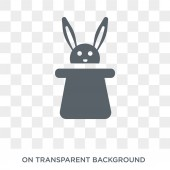 Circus Rabbit icon Circus Rabbit design concept from Circus collection Simple element vector illustration on transparent background
