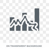 Libor rate icon Trendy flat vector Libor rate icon on transparent background from Business  collection High quality filled Libor rate symbol use for web and mobile