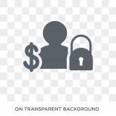 Guarantor icon Trendy flat vector Guarantor icon on transparent background from Business  collection High quality filled Guarantor symbol use for web and mobile