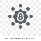 Group of Eight (G8) icon Trendy flat vector Group of Eight (G8) icon on transparent background from Business  collection High quality filled Group of Eight (G8) symbol use for web and mobile