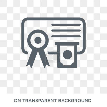 Bond icon. Bond design concept from Bond collection. Simple element vector illustration on transparent background.
