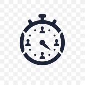Chronometer transparent icon Chronometer symbol design from Time managemnet collection