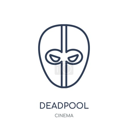 deadpool icon deadpool linear symbol