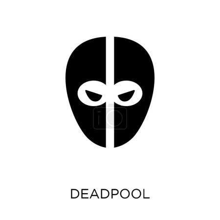 deadpool icon deadpool symbol design