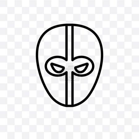 векторный icon Дэдпул линейной изоляции