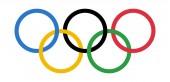 Novi Sad Serbia - 11 02 2018: Olympic Games Rings Logo