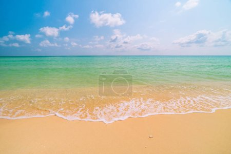 Photo for Beautiful paradise tropical beach and sea - Holiday vacation concept - Royalty Free Image