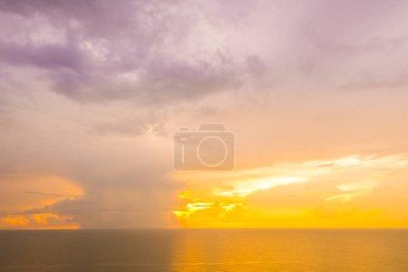 Beautiful tropical sea and ocean