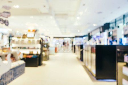 Photo for Abstract blur bokeh and defocused shopping mall of department store interior for background - Royalty Free Image