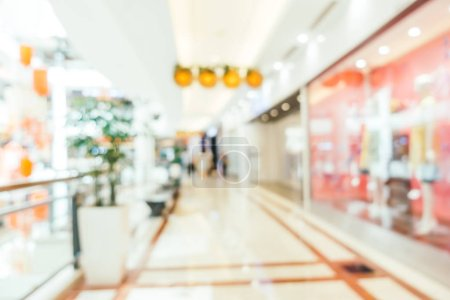 Photo for Abstract blur and defocused shopping mall of department store interior for background - Royalty Free Image