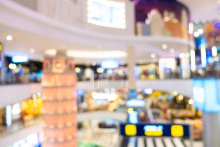 Photo for Abstract blur and defocused shopping mall and retail interior of department store for background - Royalty Free Image