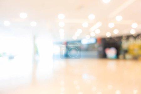 Photo pour Abstrait flou et défocus supermarché du centre commercial dans l'intérieur des grands magasins pour le fond - image libre de droit
