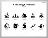 Camping elements Solid pack