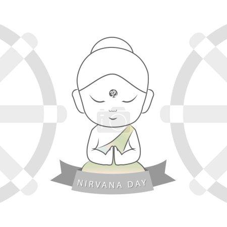 Nirvana day or Parinirvana day