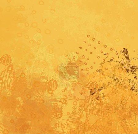 Photo pour Grunge Art contemporain. Artisanat artisanal. texture colorée. Œuvres d'art modernes. Des coups de peinture grasse. Coups de pinceau. Fond artistique. Peinture abstraite sur toile . - image libre de droit