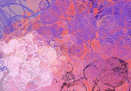 Foto de Arte contemporáneo. Arte hecho a mano. Textura de colores. Obras de arte moderno. Trazos de pintura grasa. Pinceladas. Imagen de fondo artístico. Pintura abstracta sobre lienzo. - Imagen libre de derechos