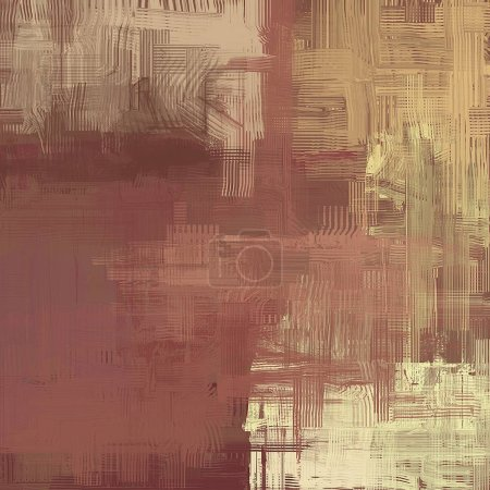 Old grunge background with different patterns...