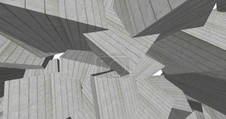 3d abstract concrete cubes background...