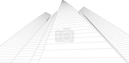 Foto de Fondo de pantalla arquitectónica abstracta, fondo digital - Imagen libre de derechos