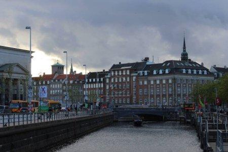 Photo pour Le centre de Copenhague - image libre de droit