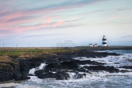 Hook lightshouse on the Wexford cost in southern I...