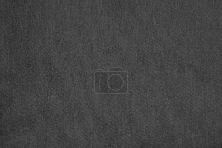 abstract black background with fabric texture