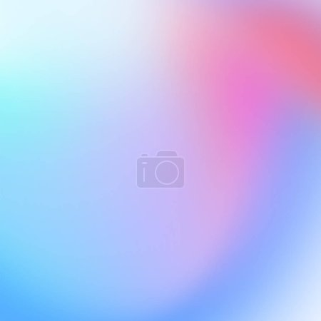 colorful holographic background, blurred effect