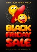 Black Friday Sale Advertising Banner