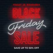 Black Friday Sale Advertising Design