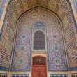 The Mausoleum of Khawaja Ahmed Yasawi. Ancient mos...