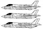 Lockheed Martin F-35 Lightning II Outline drawing