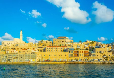 View of the port of Jaffa in Tel Aviv, Israel
