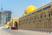 Museum of Islamic civilization situated inside of the former souq building in Sharjah, UAE