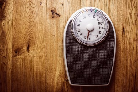 Photo pour Balance de pesée en gros plan - image libre de droit