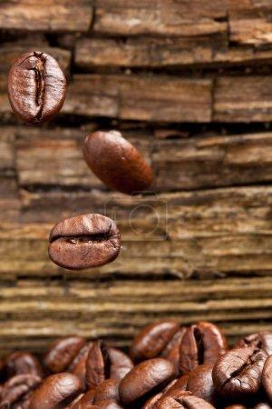Coffee Beans - Grains Pile Detail