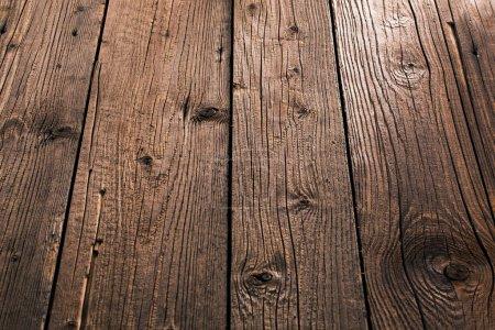 Foto de Viejo fondo de madera con patrón natural - Imagen libre de derechos