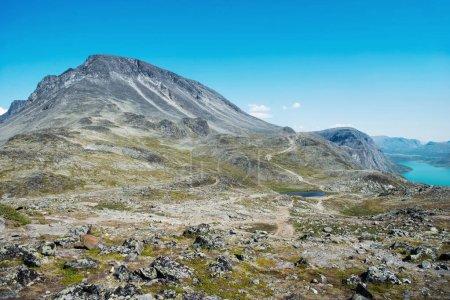 Photo pour Crête Besseggen en été dans le Parc National de Jotunheimen, Norvège - image libre de droit